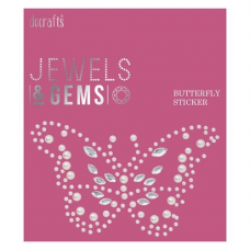 Papermania Jewels & Gems Butterfly Gem Sticker (1pc)
