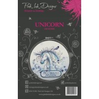 Pink Ink Designs A5 Clear Stamp Set - Unicorn
