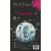 Pink Ink Designs A6 Clear Stamp Set - Seahorse