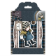 Santoro Gorjuss Girl Rubber Stamps - Tweed - The Friendly Hedgehog