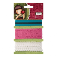 Santoro Gorjuss Girl 1m Trims (3pcs) - Santoro