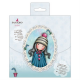 "Santoro Gorjuss Girl 6 x 6"" Cards & Envelopes (12pk)"