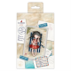 Santoro Gorjuss Girl Mini Decoupage Pad