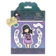 Santoro Gorjuss Girl Rubber Stamps - Little Song