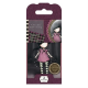 Santoro Gorjuss Girl Rubber Stamps - No. 13 Fairy Lights