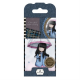 Santoro Gorjuss Girl Rubber Stamps - No. 16 Puddles of Love
