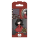 Santoro Gorjuss Girl Rubber Stamps - No. 18 Poppy Wood