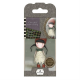Santoro Gorjuss Girl Rubber Stamps - No. 19 Holly