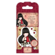 Santoro Gorjuss Girl Rubber Stamps - No. 21 The Collector
