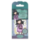 Santoro Gorjuss Girl Rubber Stamps - No. 23 Little Song