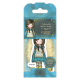 Santoro Gorjuss Girl Rubber Stamps - No. 27 The Little Friend