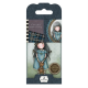 Santoro Gorjuss Girl Rubber Stamps - No. 04 Forget Me Not