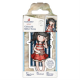 Santoro Gorjuss Girl Rubber Stamps - No. 42 Summer Days