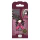 Santoro Gorjuss Girl Rubber Stamps - No. 05 Ladybird