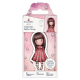 Santoro Gorjuss Girl Rubber Stamps - No. 51 Little Love