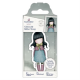 Santoro Gorjuss Girl Rubber Stamps - No. 52 Waiting
