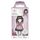 Santoro Gorjuss Girl Rubber Stamps - No. 53 Sugar And Spice