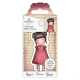 Santoro Gorjuss Girl Rubber Stamps - No. 54 Sweetheart