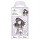 Santoro Gorjuss Girl Rubber Stamps - No. 55 All These Words