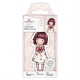 Santoro Gorjuss Girl Rubber Stamps - No. 57 Little Heart