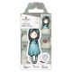Santoro Gorjuss Girl Rubber Stamps - No. 60 Let Down