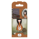 Santoro Gorjuss Girl Rubber Stamps - No. 09 I Gave You My Heart