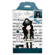 Santoro Gorjuss Girl Rubber Stamps - Piracy