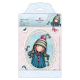 Santoro Gorjuss Girl Rubber Stamps - Pom-Pom