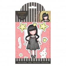 Santoro Gorjuss Girl Rubber Stamps - My Own Universe
