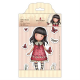 Santoro Gorjuss Girl Rubber Stamps - Time To Fly