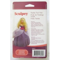 Sculpey - Silicone Flexible Reusable Push Mold Woman