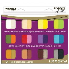 Sculpey - Premo Sampler Clay Most Popular Colours - Accents