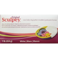 Sculpey - ORIGINAL SCULPEY Polymer Clay 454g - WHITE