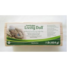 Sculpey - LIVING DOLL - Polymer Clay - 454g BABY Skin Colour