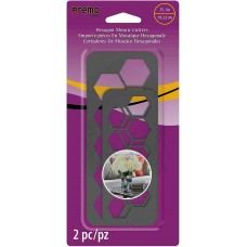 Sculpey - Premo Mosaic HEXAGONAL Cutter Set Contains 2 Sizes