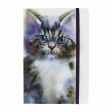 Splosh Art of Cats Journal A5 Lined - Kitten