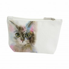 Splosh Art of Cats Travel Bag Small - Pink & Blue
