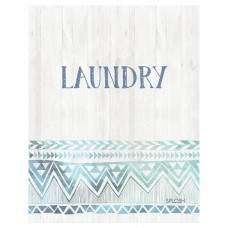 Splosh Bohemian Blue - Laundry Door Sign