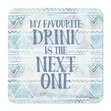 Splosh Bohemian Blue - Coaster - Favorite Drink