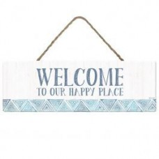 Splosh Bohemian Blue - Welcome Sign
