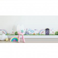 Splosh Magical Village Wall Decal - Unicorn