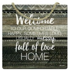 Splosh Tribal - Hanging Sign - Welcome
