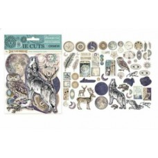 Stamperia - Chipboard Shapes Die cuts assorted - Cosmos