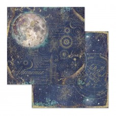 "Stamperia - Double Face Scrapbooking 12x12"" Paper Cosmos Space Astral"