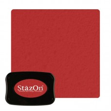 Tsukineko Staz On - Solvent Ink pad - Black Cherry
