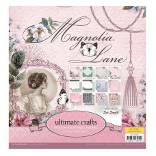 Ultimate Crafts Paper Pad - ML - Magnolia Lane 12x12 (24 dbl sheets)