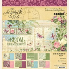 Graphic 45 Bloom 8x8 Pad