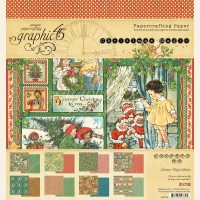 Graphic 45 Christmas Magic 8x8 Pad