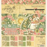 Graphic 45 Garden Goddess 8x8 Pad