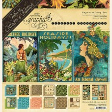 Graphic 45 Deluxe Collectors Edition - Tropical Travelogue